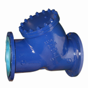 ASTM A216 WCB Y-Strainer, 4 Inch, Class 150