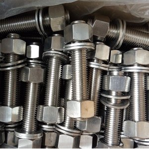 Stainless Steel Stud Bolt, ASTM A193, Full Thread