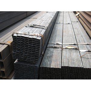 S235JR Carbon Steel Square Pipe, 80mm X 60mm X 2mm X 6000mm