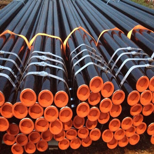 ASTM A53 Gr B Seamless Pipe, DN100, SCH 40, 6 Meters
